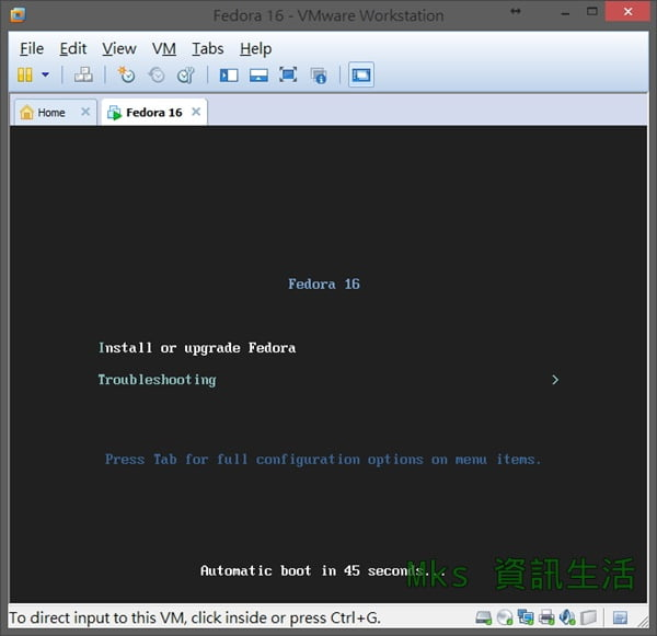 Fedora 16 Install