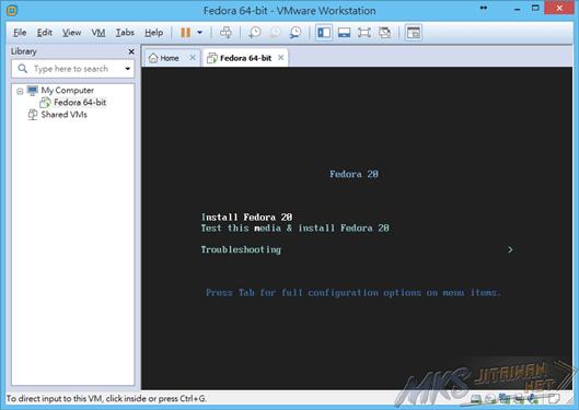 Fedora 20 安裝1