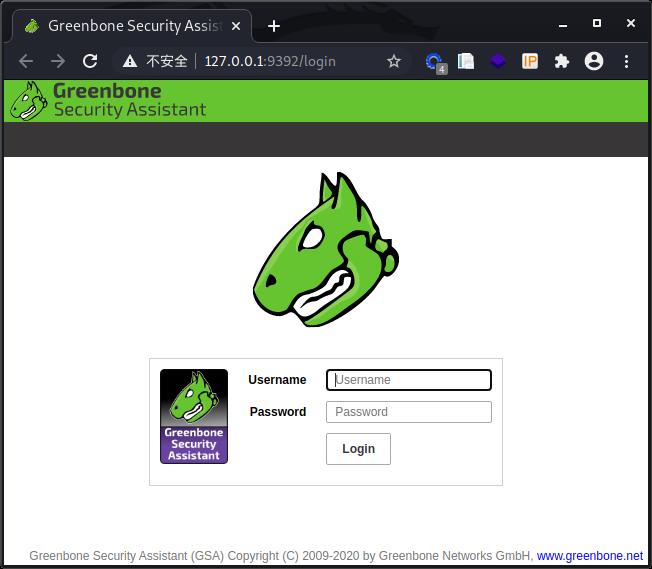install OpenVAS9 on Kali 2020.3